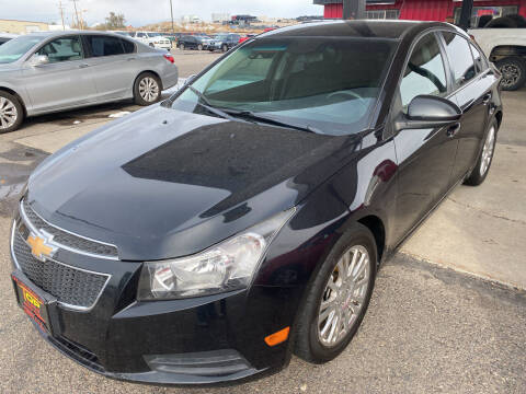 2012 Chevrolet Cruze for sale at Top Line Auto Sales in Idaho Falls ID