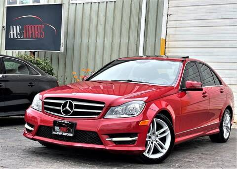 2014 Mercedes-Benz C-Class for sale at Haus of Imports in Lemont IL