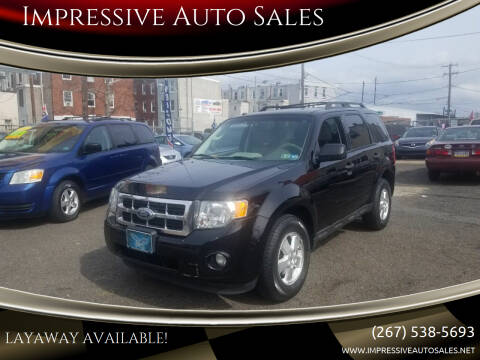 2012 Ford Escape for sale at Impressive Auto Sales in Philadelphia PA