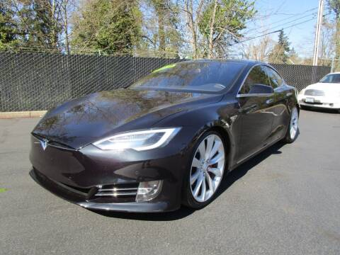 2016 Tesla Model S for sale at LULAY'S CAR CONNECTION in Salem OR