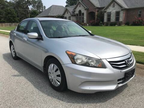 2012 Honda Accord for sale at Champion Motorcars in Springdale AR