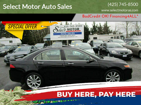 2008 Acura TSX for sale at Select Motor Auto Sales in Lynnwood WA