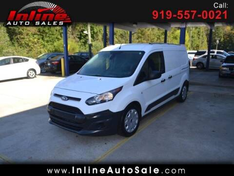 2016 Ford Transit Connect Cargo for sale at Inline Auto Sales in Fuquay Varina NC