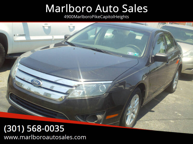 2010 Ford Fusion for sale at Marlboro Auto Sales in Capitol Heights MD
