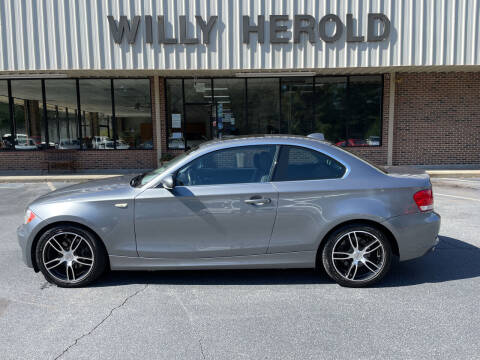 2009 BMW 1 Series for sale at Willy Herold Automotive in Columbus GA