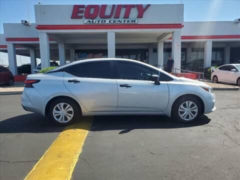 2020 Nissan Versa for sale at EQUITY AUTO CENTER in Phoenix AZ