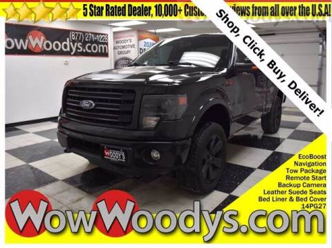 2014 Ford F-150 for sale at WOODY'S AUTOMOTIVE GROUP in Chillicothe MO