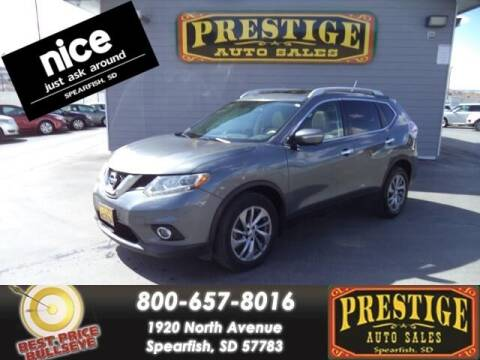 2015 Nissan Rogue for sale at PRESTIGE AUTO SALES in Spearfish SD