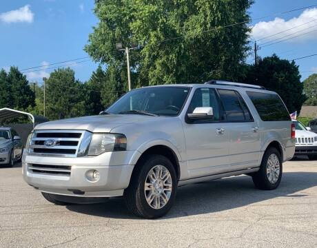 2013 Ford Expedition EL for sale at GR Motor Company in Garner NC