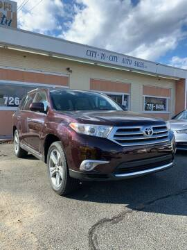 2012 Toyota Highlander for sale at City to City Auto Sales in Richmond VA