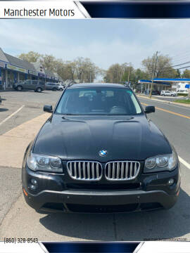 2007 BMW X3 for sale at Manchester Motors in Manchester CT