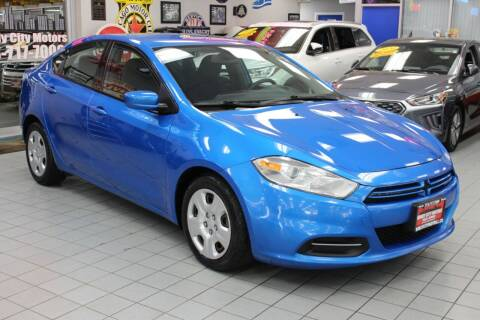 2015 Dodge Dart for sale at Windy City Motors in Chicago IL
