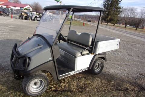 2017 Club Car Utility Dump Carry All 300 Gas EFI for sale at Area 31 Golf Carts - Gas Utility Carts in Acme PA