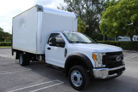 2017 Ford F-450 Super Duty for sale at Truck and Van Outlet in Miami FL