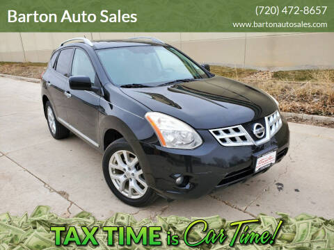 2011 Nissan Rogue for sale at Barton Auto Sales in Frederick CO
