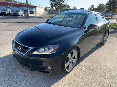 2011 Lexus IS 250 for sale at Diana Rico LLC in Dalton GA