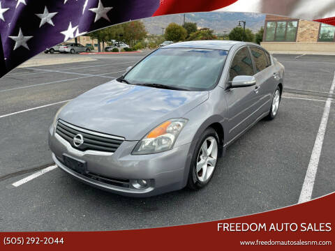 2008 Nissan Altima for sale at Freedom Auto Sales in Albuquerque NM
