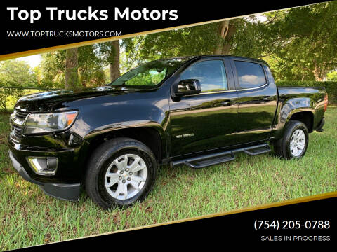2016 Chevrolet Colorado for sale at Top Trucks Motors in Pompano Beach FL