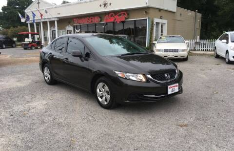 2013 Honda Civic for sale at Townsend Auto Mart in Millington TN