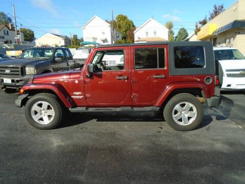 2008 Jeep Wrangler Unlimited for sale at Gemini Auto Sales in Providence RI