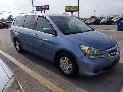 2007 Honda Odyssey for sale at Car Spot in Las Vegas NV