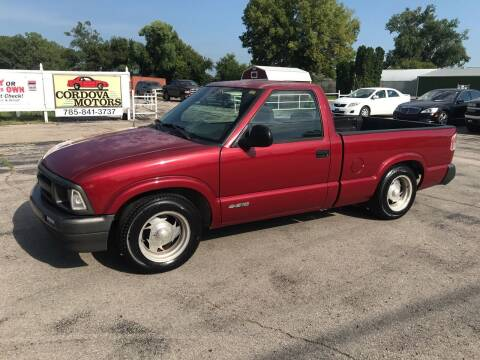 1996 Chevrolet S-10 for sale at Cordova Motors in Lawrence KS