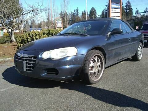 2004 Chrysler Sebring for sale at Seattle Motorsports in Shoreline WA