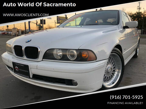 2001 BMW 5 Series for sale at Auto World of Sacramento Stockton Blvd in Sacramento CA