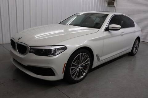 2019 BMW 5 Series for sale at JOE BULLARD USED CARS in Mobile AL