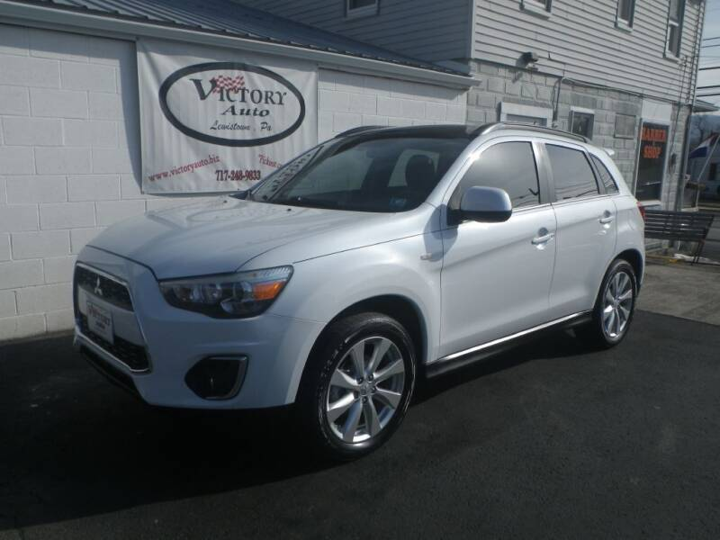 2013 Mitsubishi Outlander Sport for sale at VICTORY AUTO in Lewistown PA