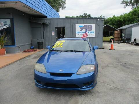 2005 Hyundai Tiburon for sale at AUTO BROKERS OF ORLANDO in Orlando FL