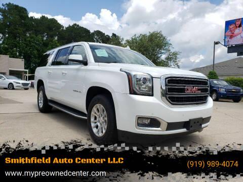 2017 GMC Yukon XL for sale at Smithfield Auto Center LLC in Smithfield NC