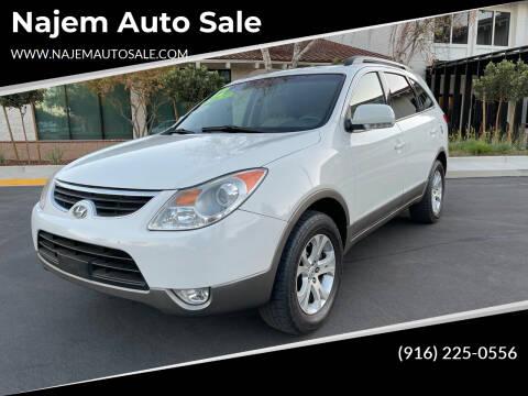 2012 Hyundai Veracruz for sale at Najem Auto Sale in Sacramento CA