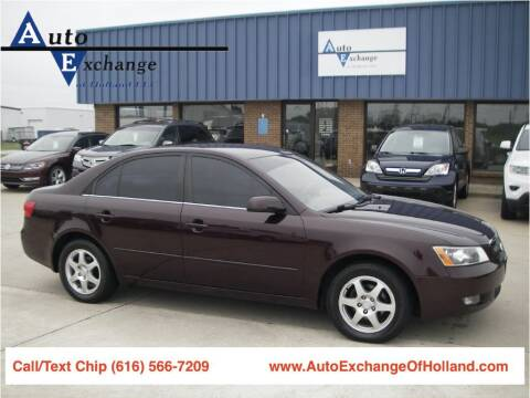 2006 Hyundai Sonata for sale at Auto Exchange Of Holland in Holland MI