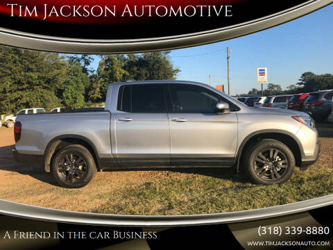 2019 Honda Ridgeline for sale at Tim Jackson Automotive in Jonesville LA