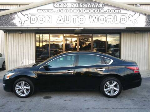 2014 Nissan Altima for sale at Don Auto World in Houston TX