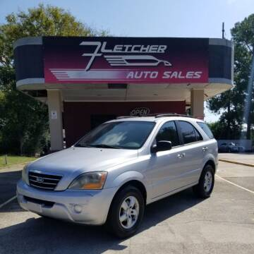 2007 Kia Sorento for sale at Fletcher Auto Sales in Augusta GA