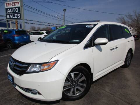 2017 Honda Odyssey for sale at TRI CITY AUTO SALES LLC in Menasha WI