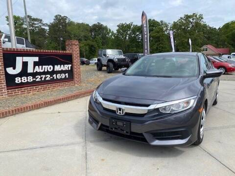 2016 Honda Civic for sale at J T Auto Group in Sanford NC