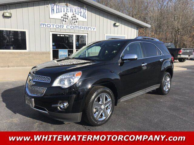 2015 Chevrolet Equinox for sale at WHITEWATER MOTOR CO in Milan IN
