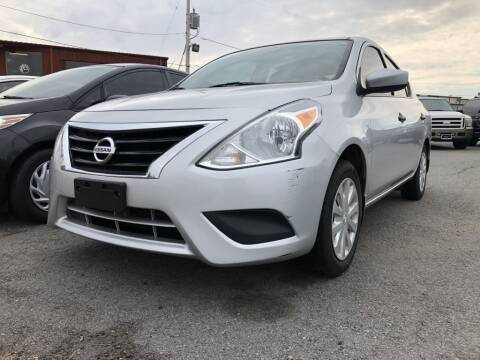 2016 Nissan Versa for sale at Auto Credit Xpress in North Little Rock AR