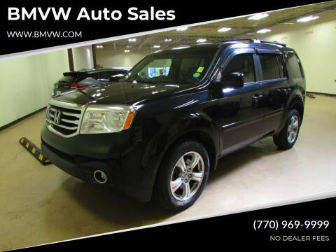 2013 Honda Pilot for sale at BMVW Auto Sales in Union City GA