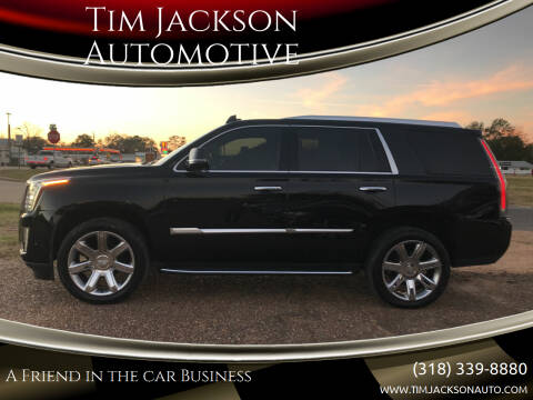2020 Cadillac Escalade for sale at Tim Jackson Automotive in Jonesville LA