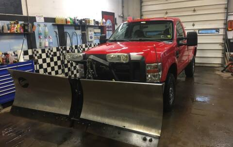 2008 Ford F-250 Super Duty for sale at Ogden Auto Sales LLC in Spencerport NY