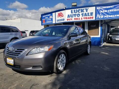 2009 Toyota Camry Hybrid for sale at Lucky Auto Sale in Hayward CA