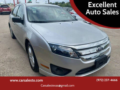 2011 Ford Fusion for sale at Excellent Auto Sales in Grand Prairie TX