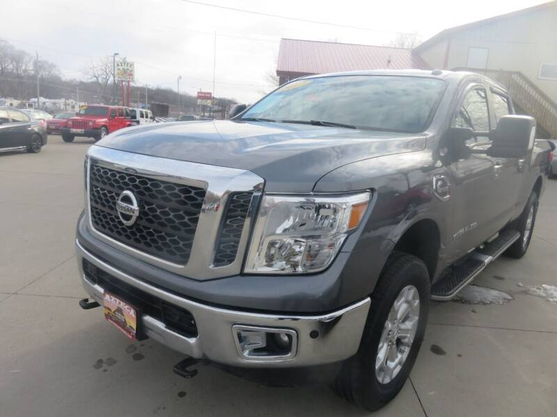 2017 Nissan Titan XD for sale at Azteca Auto Sales LLC in Des Moines IA