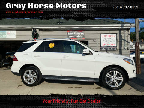 2014 Mercedes-Benz M-Class for sale at Grey Horse Motors in Hamilton OH