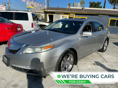 2009 Acura TL for sale at Good Vibes Auto Sales in North Hollywood CA