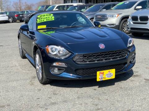 2018 FIAT 124 Spider for sale at Milford Auto Mall in Milford MA